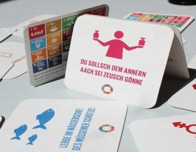 Jederzeit online   Kommunikationsmaterial: 17-Ziele-Kampagne im Social Web   aus unserem Netzwerk