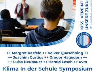 """Scientists4Future: Online-Syposium """"Klima in der Schule"""""""