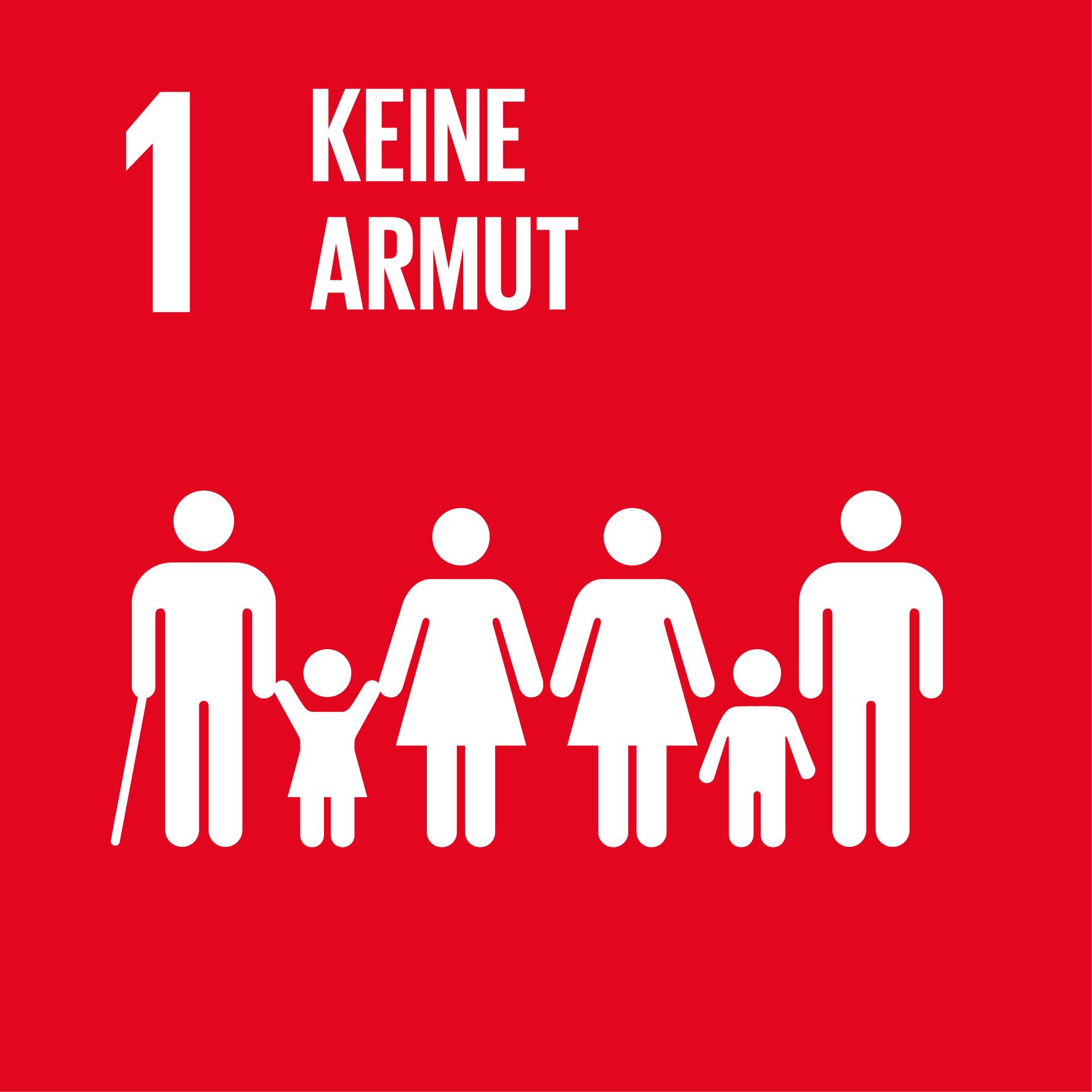 Icon Ziel 1: Keine Armut