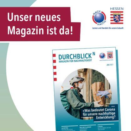 Neues Magazin DurchblickN der Hessischen Nachhaltigkeitsstrategie erschienen