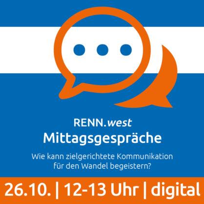 26.10.21 | Mittagsgespräch: Migration, Kommunikation & Nachhaltigkeit