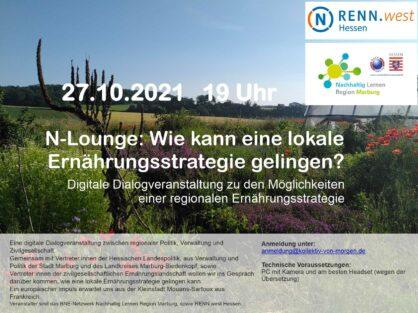 Digitales Dialogtreffen: N-Lounge, 27.10.2021